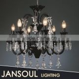 Guangzhou antique murano glass lamp project chain chandelier pendant lights