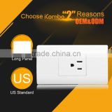 wifi light Electrical Plugs And us power Sockets outlets 240v adapter
