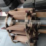Marine Willow Wood Rescue Rope Ladder