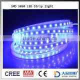 Best Led Lighting 12V/24V BLUE Led Strip Light SMD5050 Waterproof IP65 Flexible with CE RoHS certification