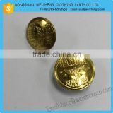 hidden snap button for jacket/coat/gold metal button,metal snap button