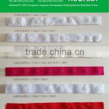 plastic snap tape garment accessories