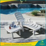 Cheap folding plastic sun lounger chair parts with tea port                                                                         Quality Choice                                                     Most Popular
