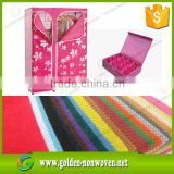 printed waterproof pp nonwoven fabric material/printed nonwoven fabric roll for bag,storage box use                                                                                                         Supplier's Choice