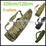 "Outdoor Heavy Duty Hunting 40"" Tactical Carry Rifle Range Shot Gun Bag 100cm/120cm Black/CP/Green/Sand"