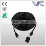 High performance Gold Plated Copper PVC Black HDMI wire                                                                         Quality Choice
