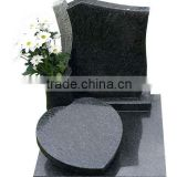 black book shape headstone