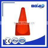 50cm plastic soccer cone with hole sports training cones