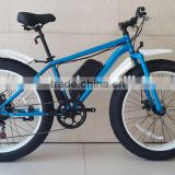 fashionable electric bike fat tire steel Frame Material snow e bike mens beach cruiser