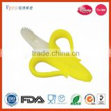Fancy Silicone Baby Teether Baby Banana Toothbrush