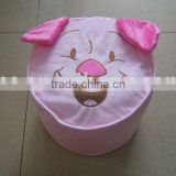 JM7773 plush inflatable stool with toy shape