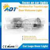 Car Door Led Ghost Shadow Light, Car Laser Projector Light, China Wholesale Auto Parts apply for Toyota
