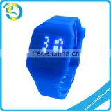 New Promotional Gift Shape Adjustable LED digital blinking silicone smart amazing led watches