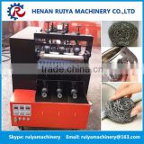 stainless steel pot scourer machine/scourer scrubber making machine/metal mesh sponge machine                                                                         Quality Choice