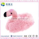 Adult & Children Kid Size Flamingo Animal Plush Fuzzy Slippers