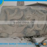 high quality animal granite grave monument slab for sale