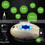 wholesale car air purifier and humidifier imitation wood grain design Mini USB car humidifier