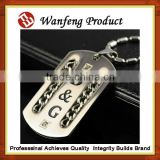 factory low price provide Dog id tag blank stainless steel metal dog tags military dog tag