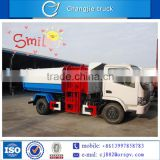 Self loading diesel type 8 cbm garbage truck price 2 axles 8m3 for sale in South America, Dubai