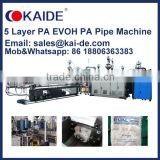 3 Layer or 5 layer PA-EVOH-PA Oxygen Barrier Multilayer pipe extrusion machine for sale