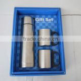 Vacuum Flask Travel Mug Set