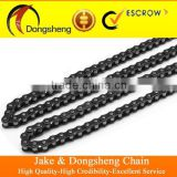 ZHEJIANG CHINA 1045 STEEL golden copper motorcycle parts chain and bajaj titan indian fine blanking sprocket per set