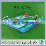 price of new product industrial inflatable water slide price