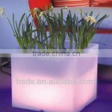 2014 new style garden decoration High quality wateproof indoor and outdoor LED flower pot
