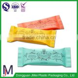 wholesale food prices designer bag for food packaging/three sides ziplock bag for candy packaging