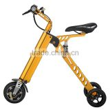 Mini Electric city bike /36v 250w 8inch folding ebike/48V 8.8Ah Foldable K Shape Electric Bike with Seat