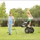Vehicle with remote controller electric golf trolley