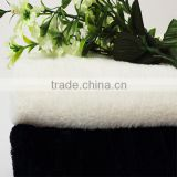 China factory wholesale 100% polyester toy PV long pile plush fabric