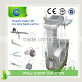 Acne Removal LCD Almighty Oxygen Jet Facial Beauty Equipment / Beauty Machine Oxygen Skin Care Machine
