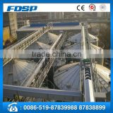 World advanced technology soybean storage silo corrugated plate steel grain silo for sale