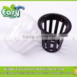 (5#B)Net cup in 5CM for Hydroponics system ,Root support.Nursery Pots.hydroponics system