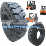 chian supplier solid rubber tire for heli forklift spare parts