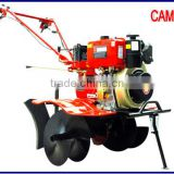 Manufacturor tiller price Bulit in clutch Gear transmission high quality 10hp diesel power tiller cultivator with spares