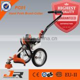 Special supply for southeast asia 52cc wheeled brush cutter/wheeled grass trimmer