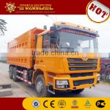 dump truck hydraulic piston SHACMAN dump truck with crane on sale