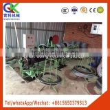 1000kg Double strands of barbed wire mesh machine