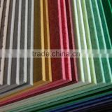 China supplier fabric wrapped acoustic panel/polyester fiber board