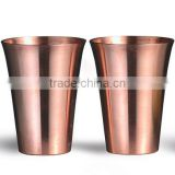 BPA FREE PURE COPPER MINT JULEP CUP, 12 OZ SOLID 100% COPPER JULEP MUG