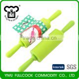 Wholesale custom baking tools food grade silicone non-stick rolling pin