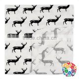 Plain White Cartoon Animal Shaped Baby Blanket Soft Infant Swaddle Blankets For All Seasons