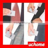 UCHOME Portable Travel Iron Card Type Portable Travel Iron For Clothes Shirt Tie SMALL iron