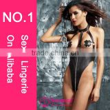 2015 Hot sales Fashionable style mature women latex lingerie pics leather lingerie sex girls black leather sexy leather fetish