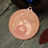 Custom Sandblast medals for Visual Arts