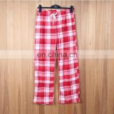 Unisex plaid pajama pants kids pajamas adult pajamas