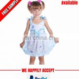 Wholesale baby girl cotton dress manufacturer