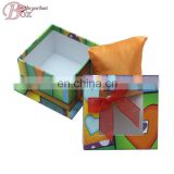 Newest Fashion Paper Jewelry Packaging Box with Clean Window and Ribbon
